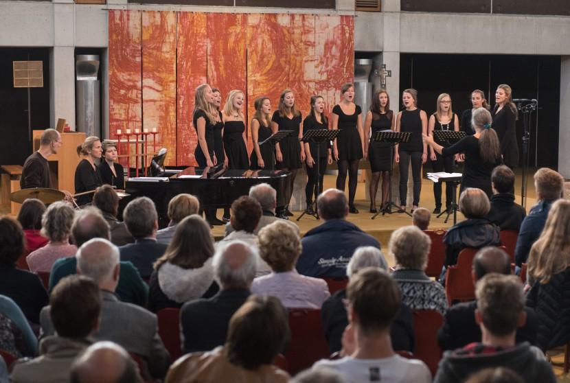 Jubiläumskonzert von Xochilex Chor 2015 in der Südstadtkirche
